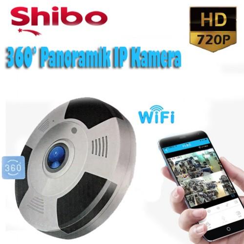 SHIBO 360 ° PanoramiK IP Kamera 1MP