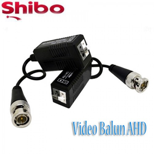 Shibo Video AHD & ANALOG Balun CCTV Kablo Yerine Cat5 Cat6 Kullanın